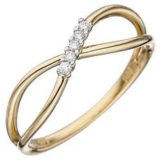 Artikel mit Schlagwort Diamantring Infinity Gelbgold