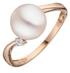 Artikel mit Schlagwort Perlen Diamant Ring Rotgold
