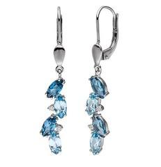 Artikel mit Schlagwort Blautopas Diamant Ohrringe