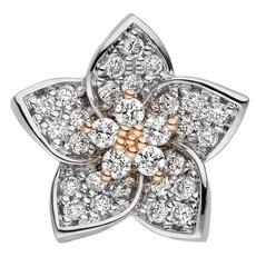 Artikel mit Schlagwort Diamant Anhänger Blüte Gold 585 bicolor
