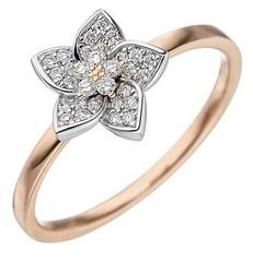 Artikel mit Schlagwort Diamantring Blüte Gold 585