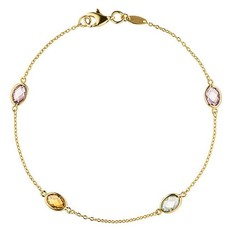 Artikel mit Schlagwort Armband Farbedelsteine Gold 585