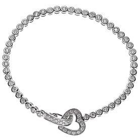 Armband mit Herz Sterling Silber und Zirkonia
