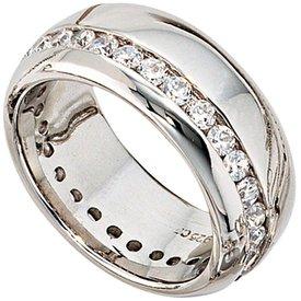 Silber-Ring Sterlingsilber mit Zirkonia