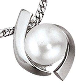 Perlen-Anhänger Weißgold 333