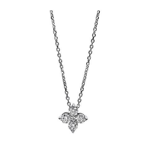 Diamant Collier 0,40 ct Weißgold 750