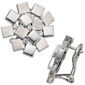 Ohrstecker Sterling-Silber 925 Zirkonia