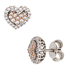 Artikel mit Schlagwort Diamant Herz Ohrstecker Gold 585