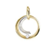 Artikel mit Schlagwort Diamant Anhänger Gelbgold Weißgold