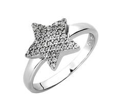 Artikel mit Schlagwort Zirkonia Ring Stern Silber
