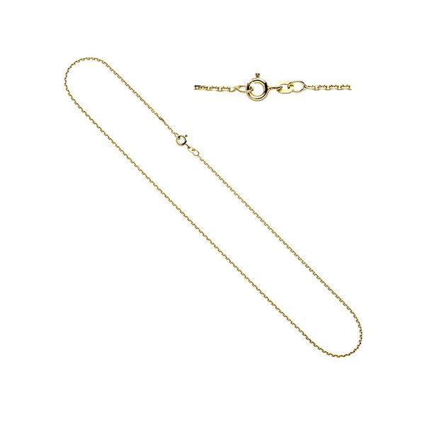 Ankerkette, Halskette 1,6 mm aus Gelbgold 333