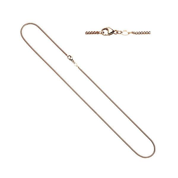 Bingokette, Halskette 1,5 mm aus 585erRotgold