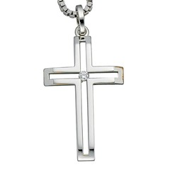 Artikel mit Schlagwort Diamant Kreuz Anhänger