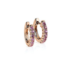 Artikel mit Schlagwort Pink Saphir Ohrringe