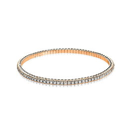 Diamant Tennis Armband Flexi 1,67 ct Rotgold 750