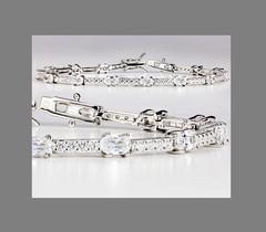 Artikel mit Schlagwort Zirkonia Armband Silber