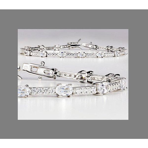 Armband mit Zirkonia Sterling Silber 925