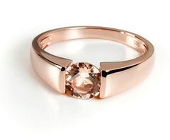 Artikel mit Schlagwort Morganit Ring Rotgold 585