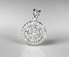 Artikel mit Schlagwort Diamant Anhänger Weißgold 750