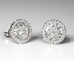 Artikel mit Schlagwort Diamant Ohrstecker Weißgold 750