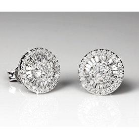 Diamant Ohrstecker 0,60 ct Weißgold 750