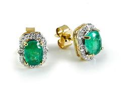 Artikel mit Schlagwort Smaragd Ohrringe Gold 585