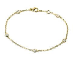 Artikel mit Schlagwort Diamant Armband Gelbgold 750