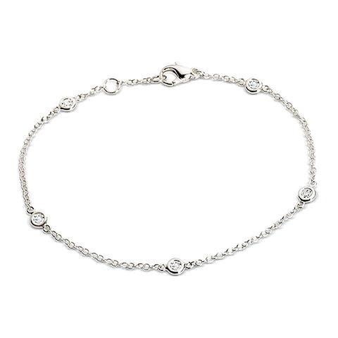Diamant Armband 0,20 ct Weißgold 750