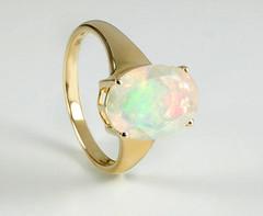 Artikel mit Schlagwort Opal Ring Gelbgold