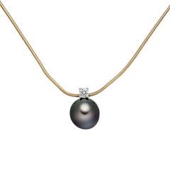 Artikel mit Schlagwort Perlen Diamant Collier Gold 585