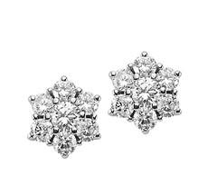 Artikel mit Schlagwort Diamant Ohrstecker Weißgold 585