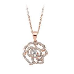 Artikel mit Schlagwort Diamant Collier Blüte Gold 585