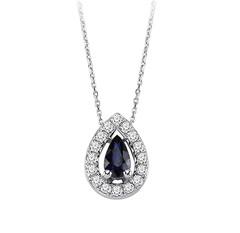 Artikel mit Schlagwort Saphir Diamant Collier Gold 585