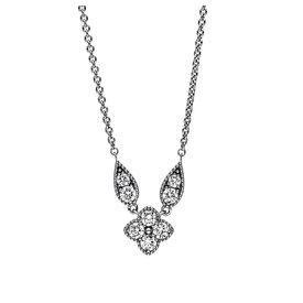 Diamant Collier 0,39 ct Weißgold 750