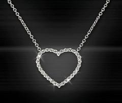Artikel mit Schlagwort Herz Diamant Collier