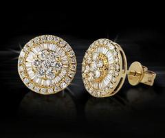 Artikel mit Schlagwort Diamant Ohrringe Gelbgold