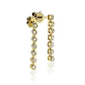 Diamant Ohrhänger 0,47 ct Gelbgold 750