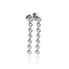Diamant Ohrhänger 0,47 ct Weißgold 750