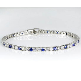 Zirkonia Tennis Armband Silber 925