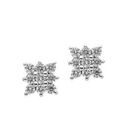 Diamant Ohrstecker 0,47 ct Weißgold 585