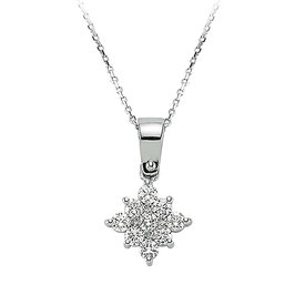 Diamant Collier 0,23 ct  Weißgold 585