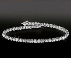 Artikel mit Schlagwort Diamant Tennis Armband Weißgold