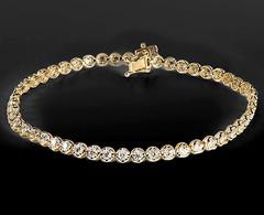 Artikel mit Schlagwort Diamant Tennis Armband Gelbgold