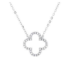 Zirkonia Collier Silber 925