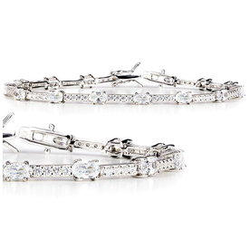 Zirkonia Armband Silber 925