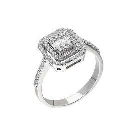 Baguette Diamantring 0,63 ct Weißgold 585