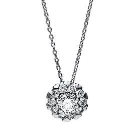 Diamant Collier 0,50 ct Weißgold 750