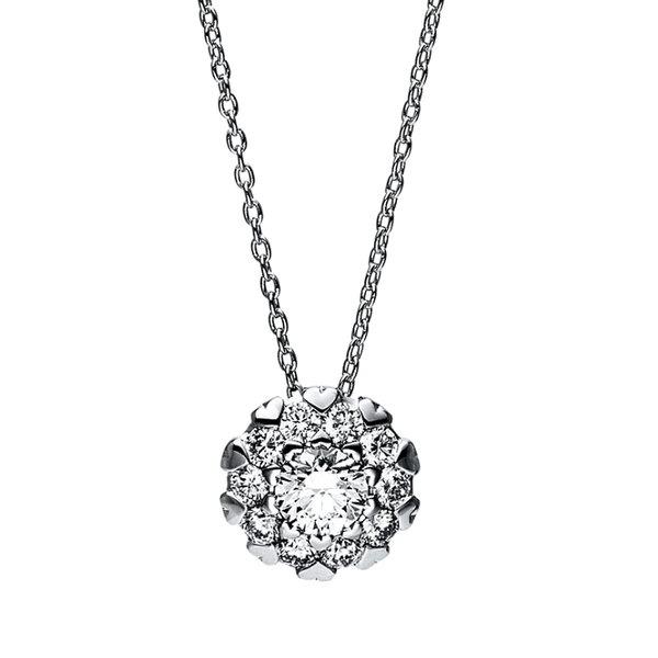 Diamant Collier 0,50 ct aus 750er Weißgold