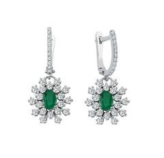 Artikel mit Schlagwort Smaragd Diamant Ohrringe Weißgold