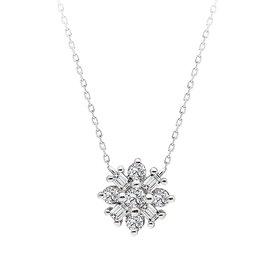 Diamant Collier 0,14 ct Weißgold 585